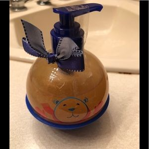 Bath and body works hand soap.